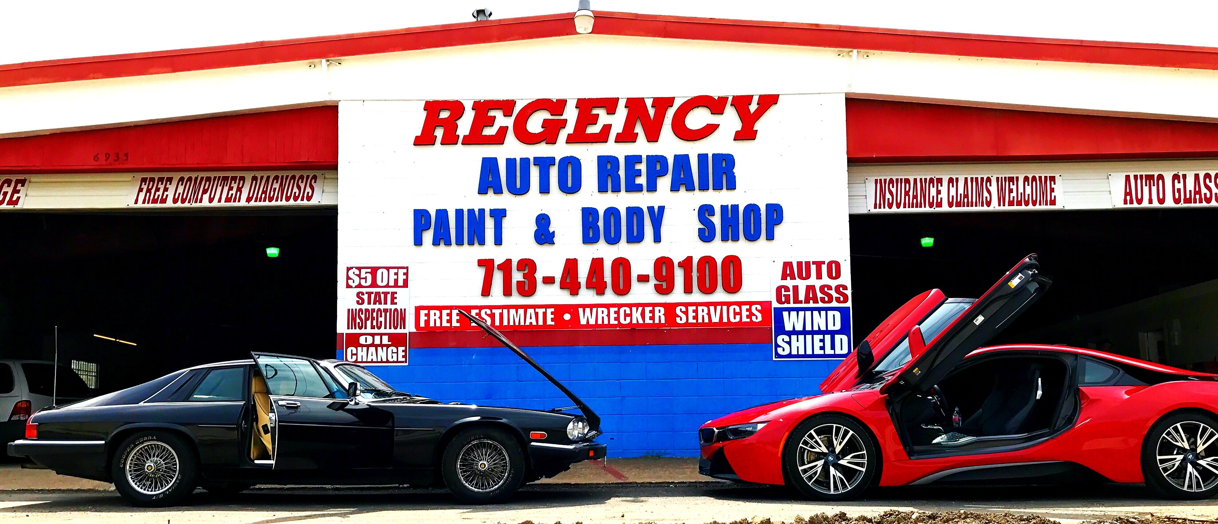 Regenct auto body Houston